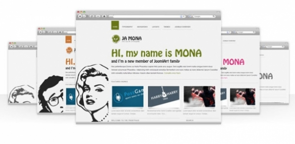 JW Mona - Portfolio for wordpress